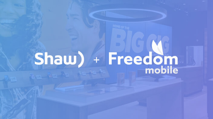Shaw Communications and Freedom Mobile Success Story