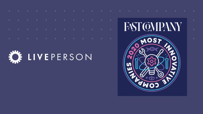 LivePerson named to Fast Company's Most Innovative Companies