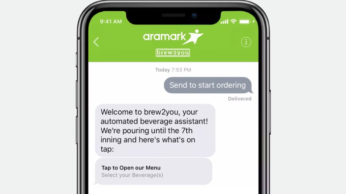 LivePerson brings Conversational Commerce to the ball game with Aramark