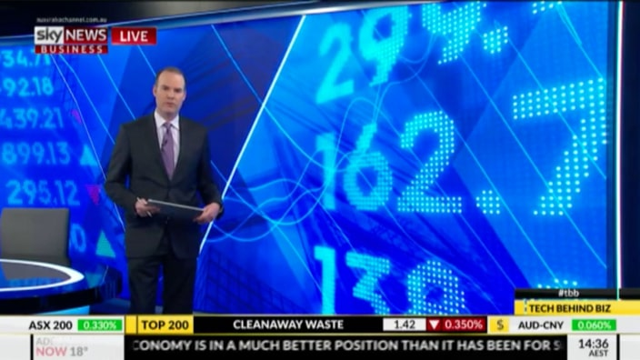 Foxtel on Sky Business News