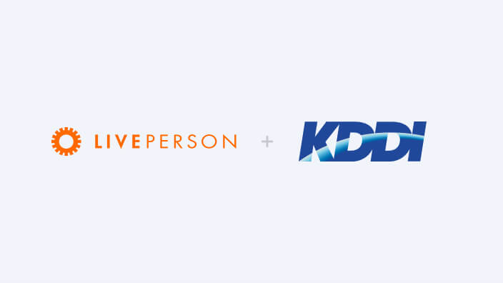 LivePerson links with KDDI's corporate +Message service to launch conversational customer support over +Message