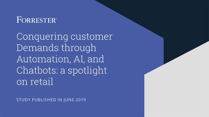 Study: Conquering customer demands through automation, AI, and chatbots: A spotlight on retail