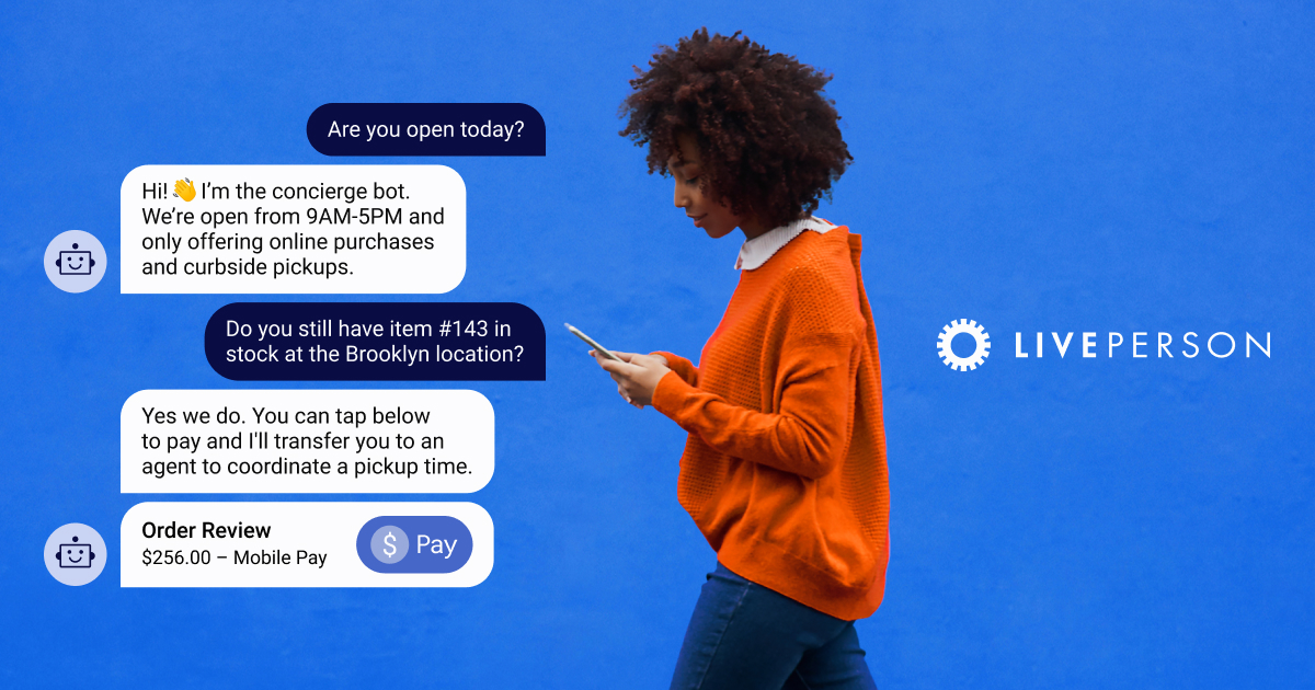 The World's First AI-powered Conversational Cloud | LivePerson