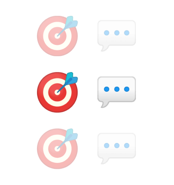 Use Proactive Messaging to target prospects and re-engage existing customers